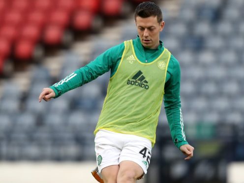Celtic are getting back to their best, according to Callum McGregor (Andrew Milligan/PA)