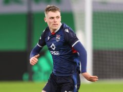 Ross County's Josh Reid on way to Coventry (Jeff Holmes/PA)