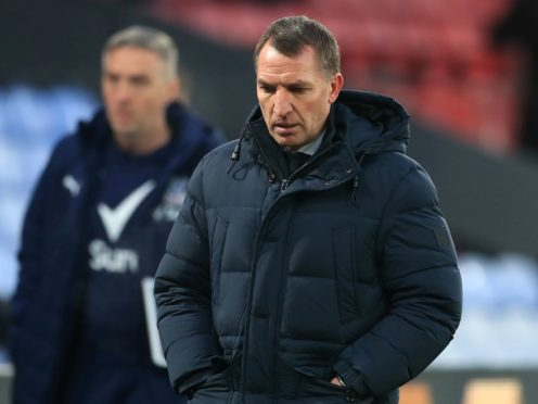 Leicester manager Brendan Rodgers admits defeat to Everton in December was the biggest disappointment of the last few months (Adam Davy/PA)