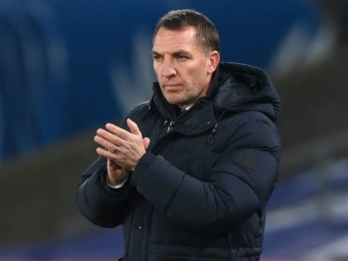 Leicester manager Brendan Rodgers was delighted with his side's battling qualities (Facundo Arrizabalaga/PA)