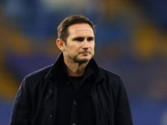 Frank Lampard, pictured, has been sacked as Chelsea manager (Richard Heathcote/PA)