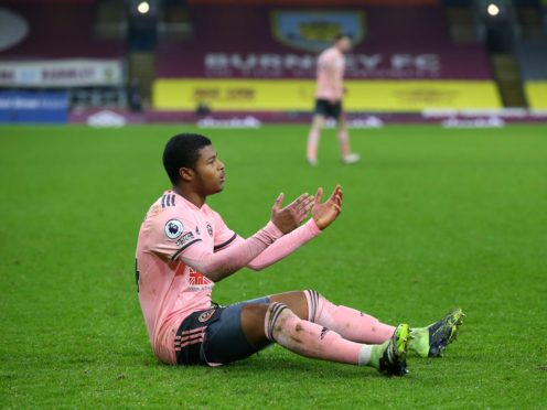 Rhian Brewster has yet to score for Sheffield United (Alex Livesey/PA)