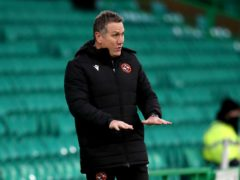 Dundee United manager Micky Mellon is expecting St Mirren to be at their best (Andrew Milligan/PA)