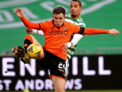 Dundee United's Lawrence Shankland scored a sensational goal (PA)