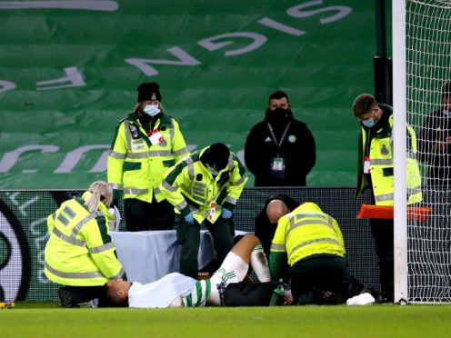 Celtic's Christopher Jullien out for up to four months with injury (Andrew Milligan/PA)