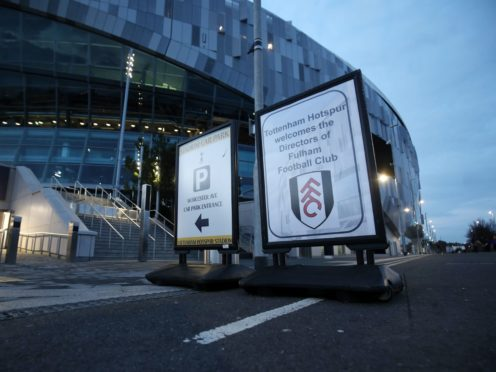 Tottenham could be hosting Fulham on Wednesday instead of heading to Aston Villa (Steve Parsons/PA)