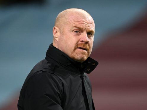 Sean Dyche's Burnley side have enjoyed an upturn in fortunes in recent weeks (Michael Regan/PA)