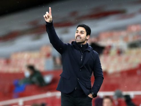 Mikel Arteta's Arsenal side were knocked out of the FA Cup by Southampton at the weekend. (Peter Cziborra/PA)