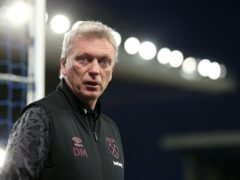 David Moyes is searching for a striker (Alex Pantling/PA)
