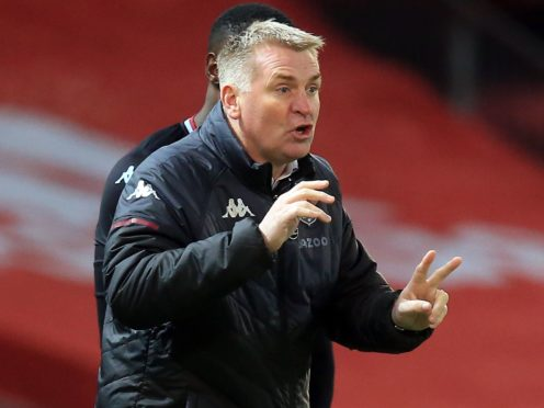 Dean Smith revealed there has been an update of protocols around Aston Villa's training ground (Lindsey Parnaby/PA)