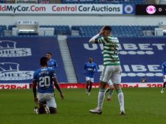 Nir Bitton was targeted after his Ibrox red card (Andrew Milligan/PA)