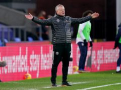 Sheffield United manager Chris Wilder is preparing for a tough trip to Manchester United (John Walton/PA)