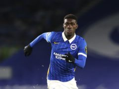 Yves Bissouma helped Brighton into the fifth round of the FA Cup (Gareth Fuller/PA)