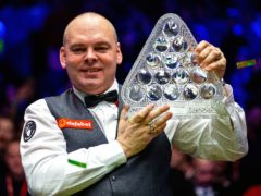 Defending champion Stuart Bingham is into the last eight at the Masters (Steven Paston/PA)