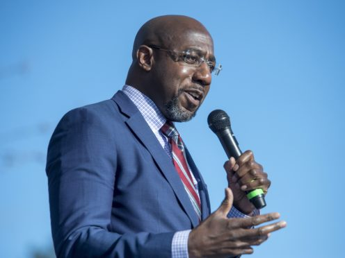 Raphael Warnock (Michael Holahan/The Augusta Chronicle via AP)