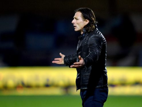 Gareth Ainsworth will be able to field a side against Tottenham on Monday after a bout of coronavirus (Simon Galloway/PA)