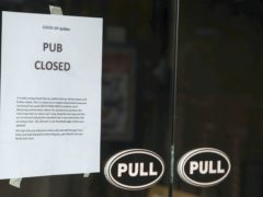 The prospect of pubs being forced to shut until May led to warnings that many may not reopen (Steve Parsons/PA)