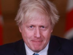 Boris Johnson has been accused of hypocrisy (Hannah McKay/PA)