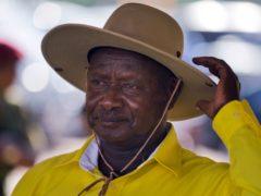 Uganda's long-time President Yoweri Museveni (Ben Curtis/AP)