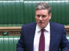 Labour leader Sir Keir Starmer (House of Commons)