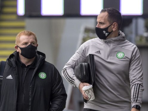 John Kennedy, right, has defended Celtic's actions (Jeff Holmes/PA)