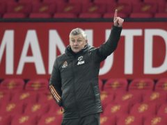 Manchester United manager Ole Gunnar Solskjaer's side will go top of the Premier League with a point at Burnley on Tuesday (Peter Powell/PA)