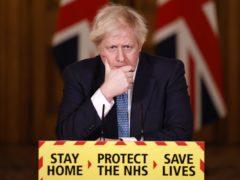 Boris Johnson said almost 1.5 million people have now been vaccinated against coronavirus (Tolga Akmen/PA)