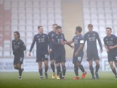 Wayne Routledge gave Swansea the lead (Bradley Collyer/PA)