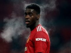 Axel Tuanzebe was subjected to racist abuse (Martin Rickett/PA)