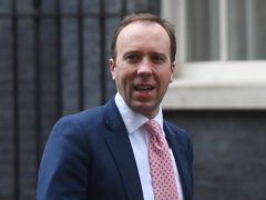 Matt Hancock has warned lockdown easing in England is a 'long, long, long way' off (Victoria Jones/PA)