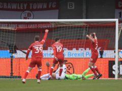 Crawley stunned Leeds (Adam Davy/PA)