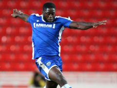 John Akinde earned Gillingham a point (Nigel French/PA)