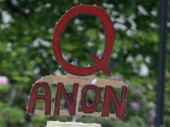 Twitter said it has suspended more than 70,000 accounts associated with the QAnon conspiracy theory (Ted S Warren/AP)