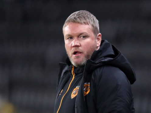 Grant McCann's Hull eased past Accrington (Martin Rickett/PA)