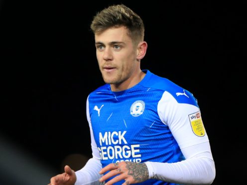 Sammie Szmodics scored twice for Peterborough (Mike Egerton/PA)