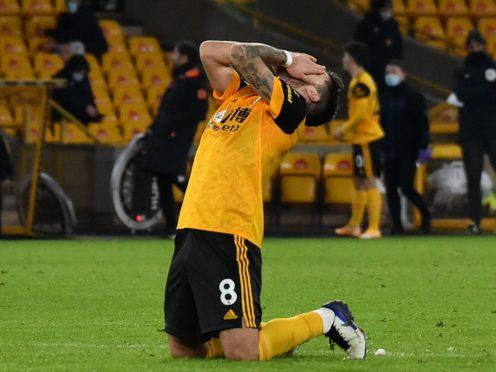 Ruben Neves says Wolves will improve (Rui Vieira/PA)