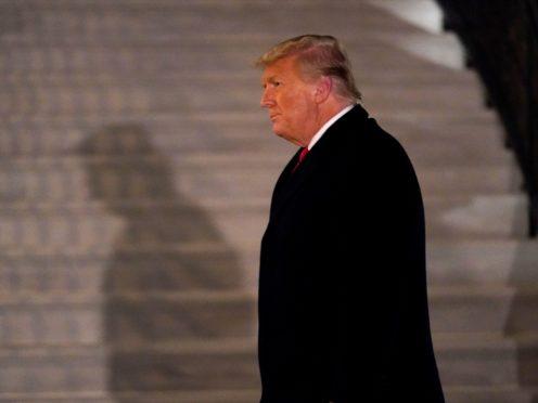 US President Donald Trump (AP/Gerald Herbert)