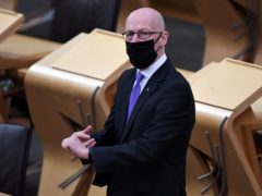 John Swinney (Andy Buchanan/PA)