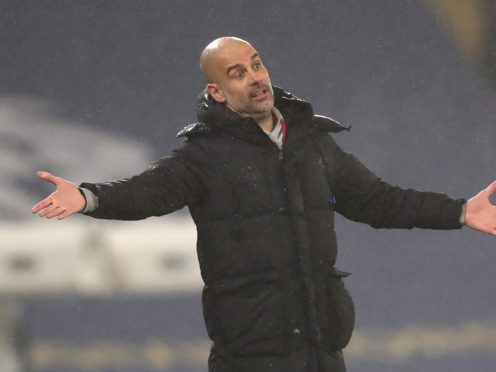 Pep Guardiola says footballers cannot be held responsible over the UK pandemic situation (Clive Brunskill/PA)