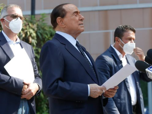 Silvio Berlusconi remains the head of his Forza Italia party and is vocal in national politics (Luca Bruno/AP)