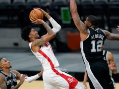 Houston Rockets push loss of James Harden aside with win over San Antonio Spurs (Eric Gay/AP)