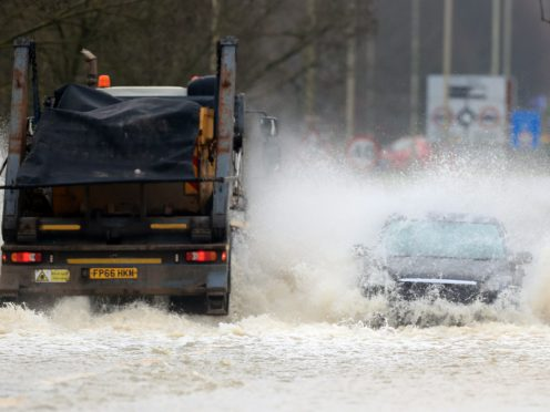 Flood warnings are in place as the UK faces a spell of unsettled weather this week (Mike Egerton/PA)