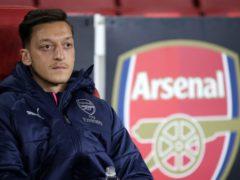 Mesut Ozil has finally called time on his Arsenal career (Nick Potts/PA)