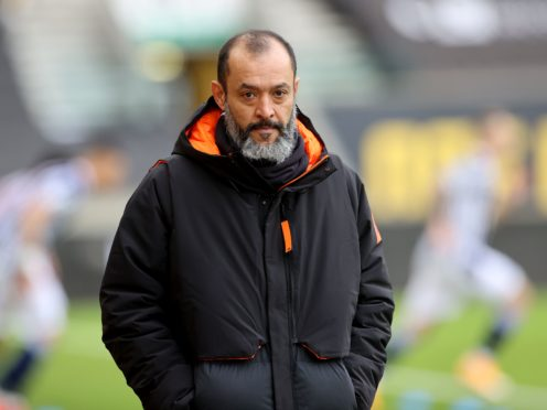 Wolves manager Nuno Espirito Santo takes his side to Chorley on Friday (Carl Recine/PA)