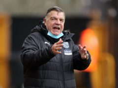 West Brom boss Sam Allardyce is relishing tackling former club West Ham (Carl Recine/PA Images).