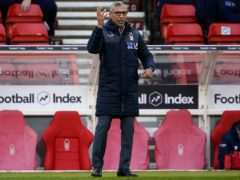 Chris Hughton was frustrated by his side's finishing (Zac Goodwin/PA)