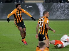 Mallik Wilks opened the scoring for Hull (Richard Sellers/PA)