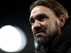 Norwich manager Daniel Farke saw his weakened Championship leaders win 2-1 at Cardiff (Nick Potts/PA)