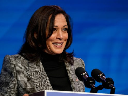 Vice President-elect Kamala Harris (Matt Slocum/AP)