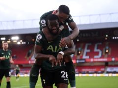 Tanguy Ndombele scored a stunning goal against Sheffield United (Laurence Griffiths/PA)